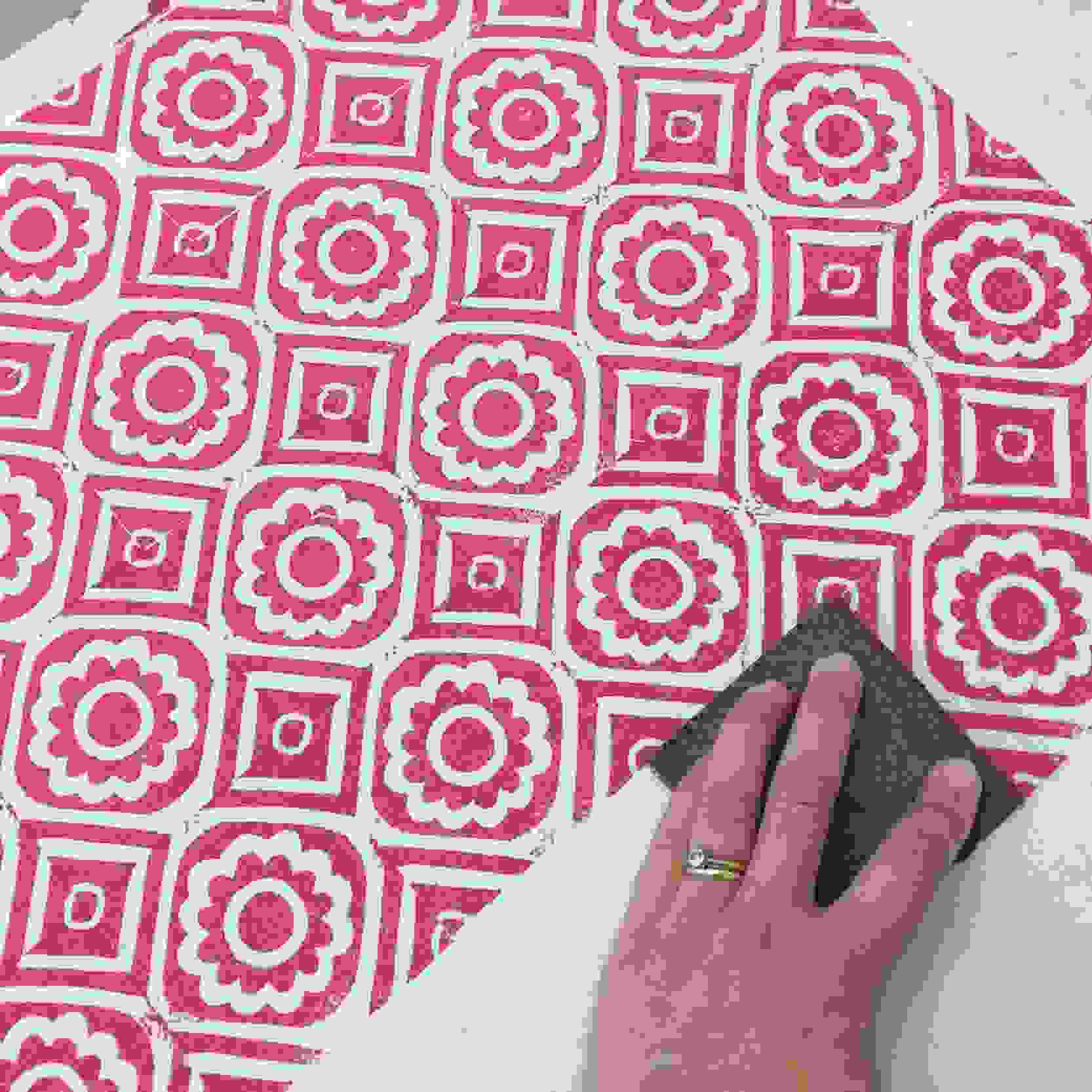 Lino Printing on Fabric Workshop image